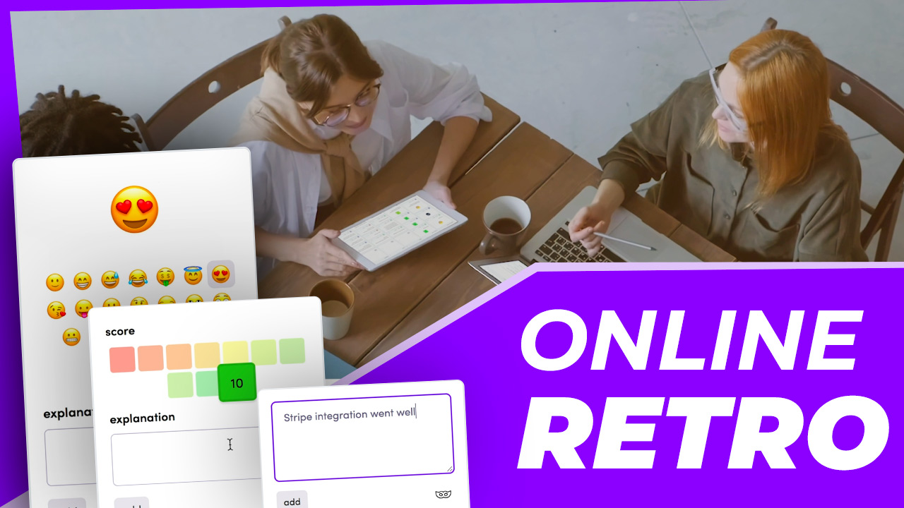 Learn in 60 seconds how to do an online retrospective